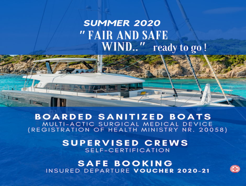 COVID POLICY | Summer 2020 | READY TO SAIL SAFELY