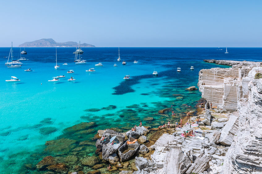 Sicily Holidays | Favignana Marettimo Levanzo | Catamaran Charter | Sailing Italy | Premium